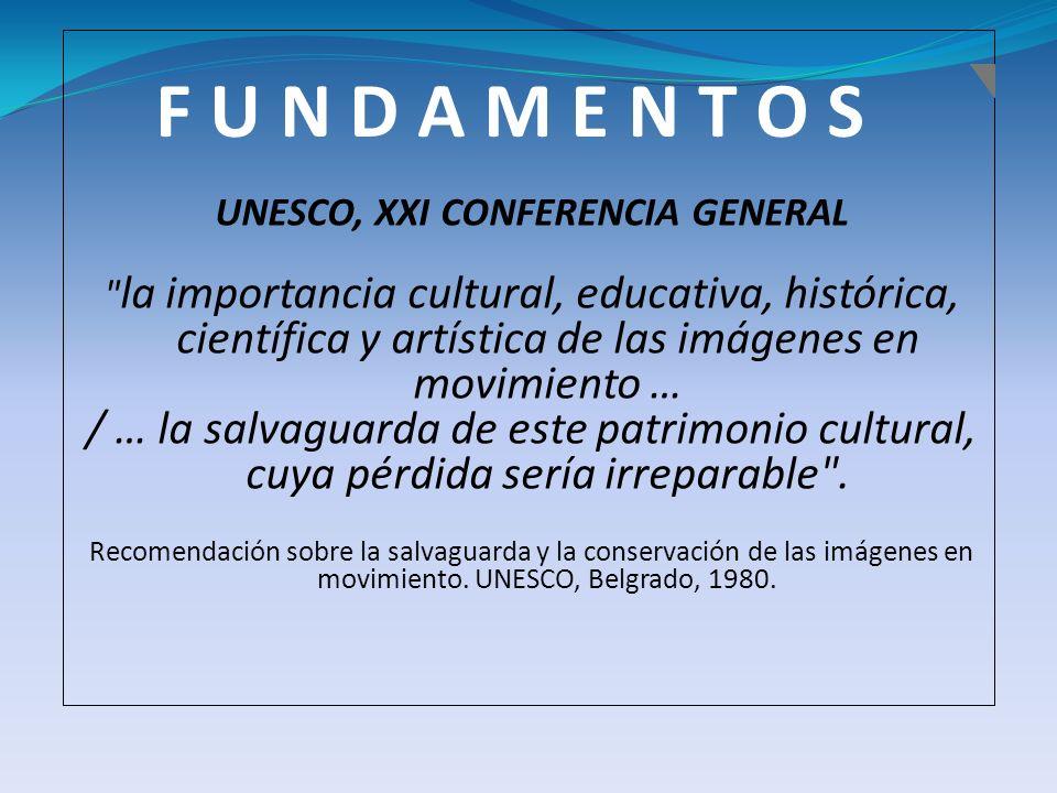 UNESCO, XXI CONFERENCIA GENERAL