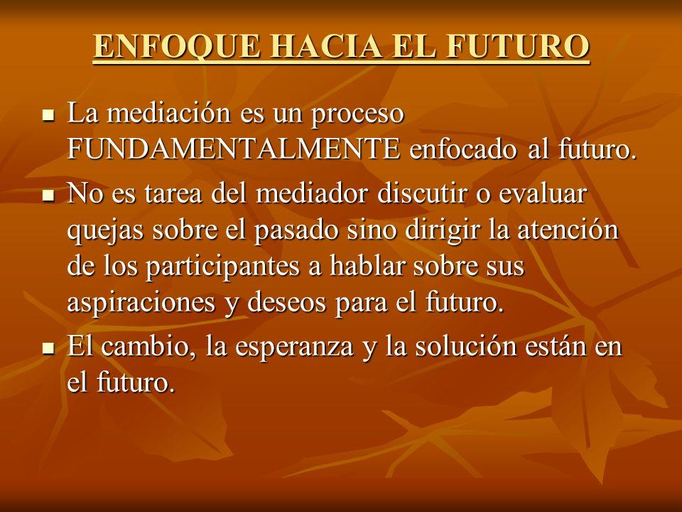ENFOQUE HACIA EL FUTURO