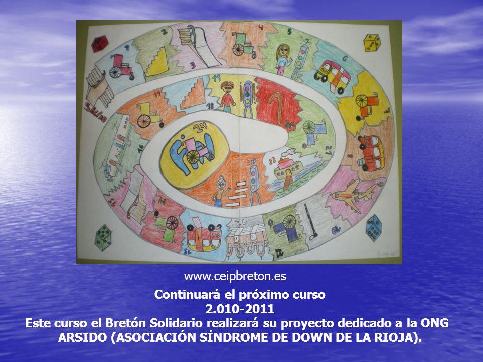 Continuará el próximo curso 2.010-2011