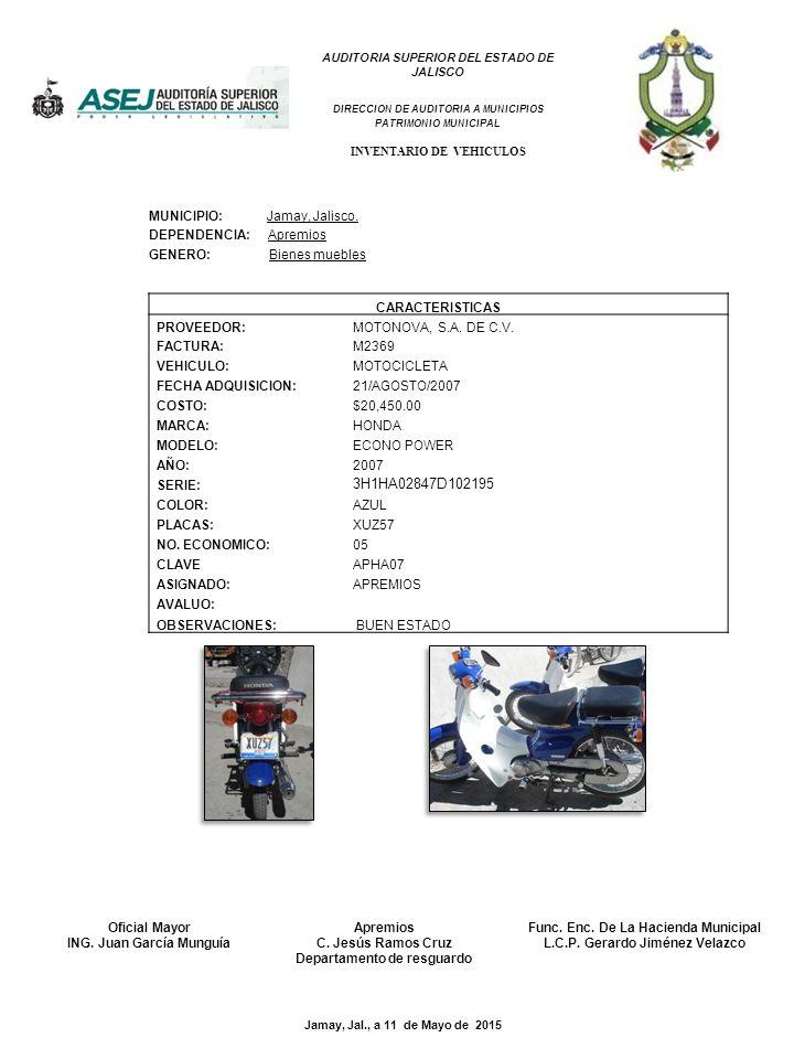 2009 jr40148 municipio jamay jalisco dependencia ppt for Muebles padron