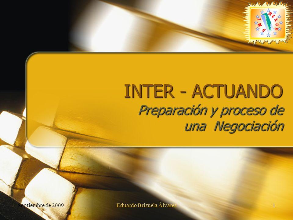 Preparación y proceso de una Negociación