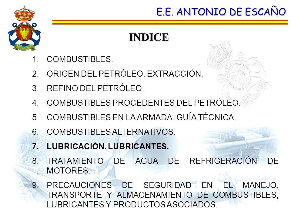 INDICE E.E. ANTONIO DE ESCAÑO COMBUSTIBLES.