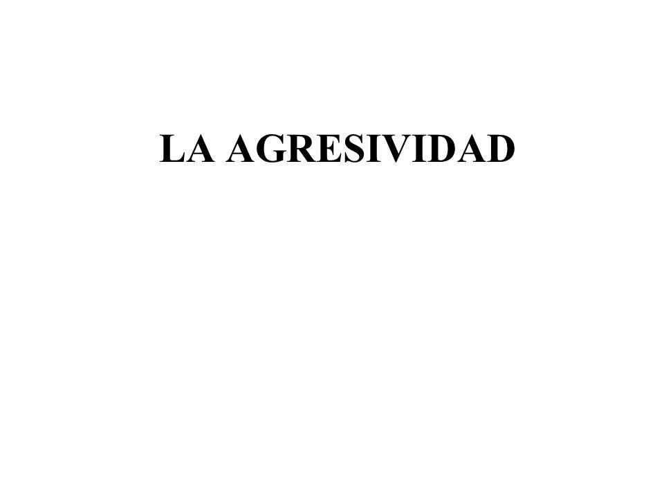 LA AGRESIVIDAD