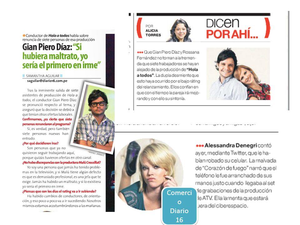 Comercio Diario 16