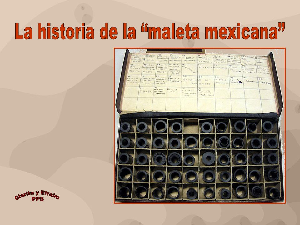 La historia de la maleta mexicana
