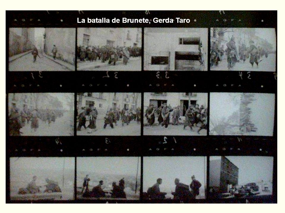 La batalla de Brunete, Gerda Taro