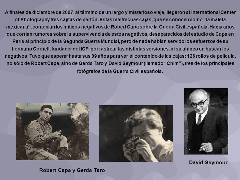 Robert Capa y Gerda Taro