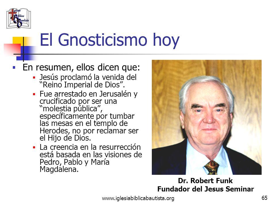 Fundador del Jesus Seminar