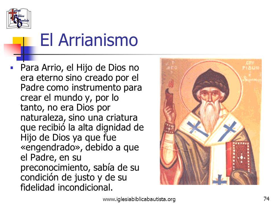 El Arrianismo
