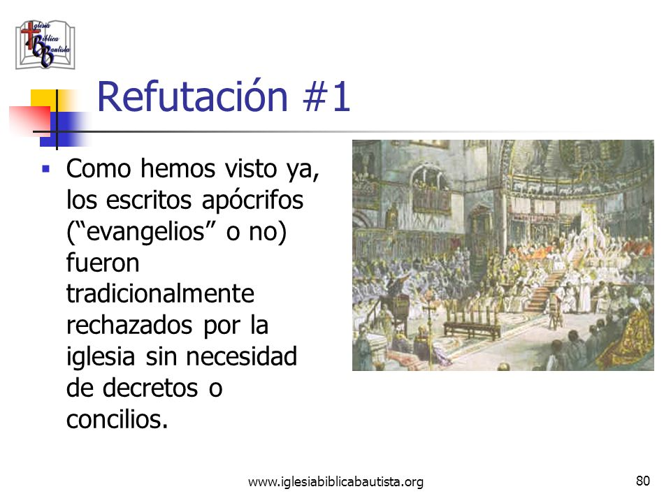 Refutación #1