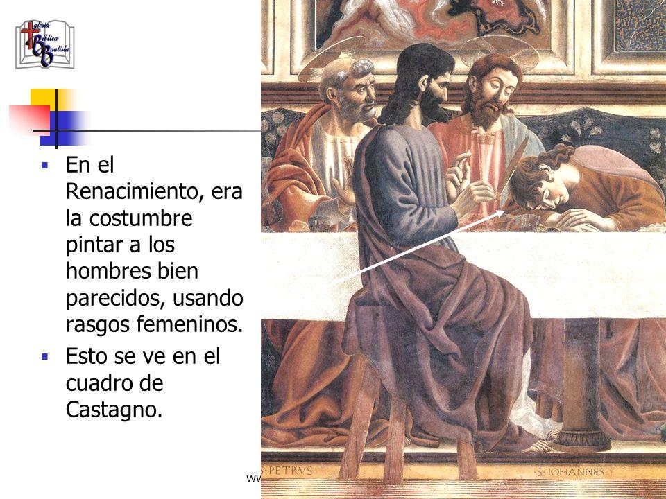 Esto se ve en el cuadro de Castagno.