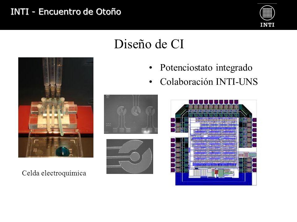 Diseño de CI Potenciostato integrado Colaboración INTI-UNS