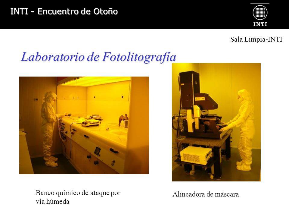 Laboratorio de Fotolitografía