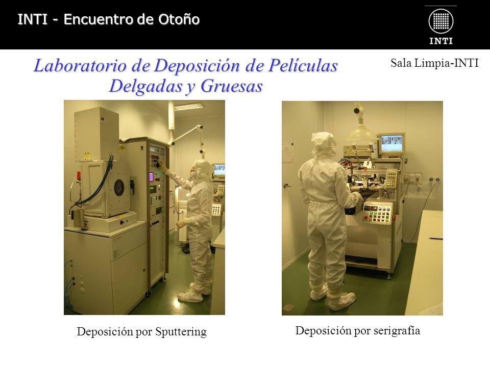 Laboratorio de Deposición de Películas Delgadas y Gruesas