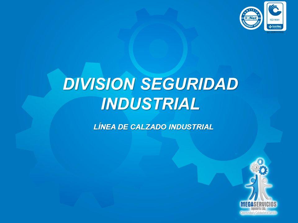 DIVISION SEGURIDAD INDUSTRIAL LÍNEA DE CALZADO INDUSTRIAL