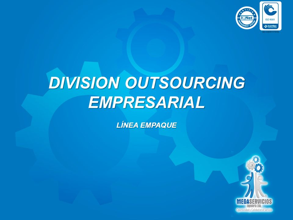 DIVISION OUTSOURCING EMPRESARIAL