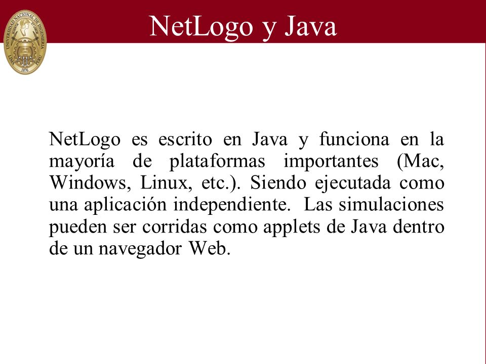 NetLogo y Java