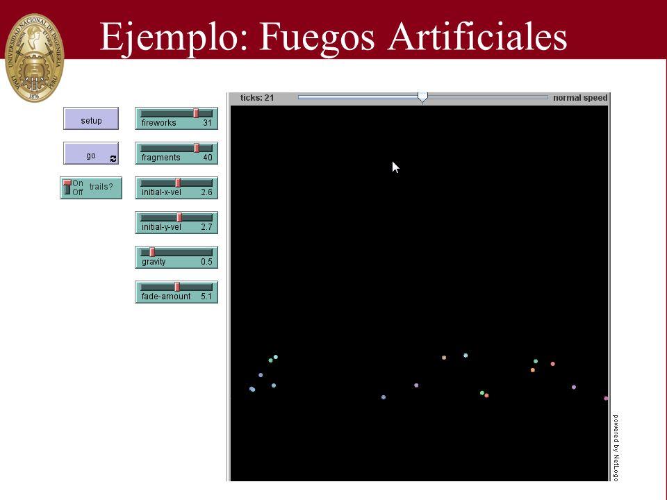 Ejemplo: Fuegos Artificiales