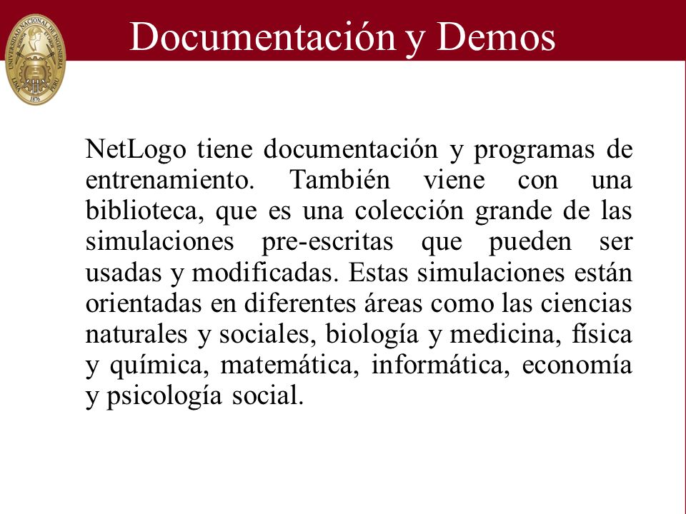 Documentación y Demos