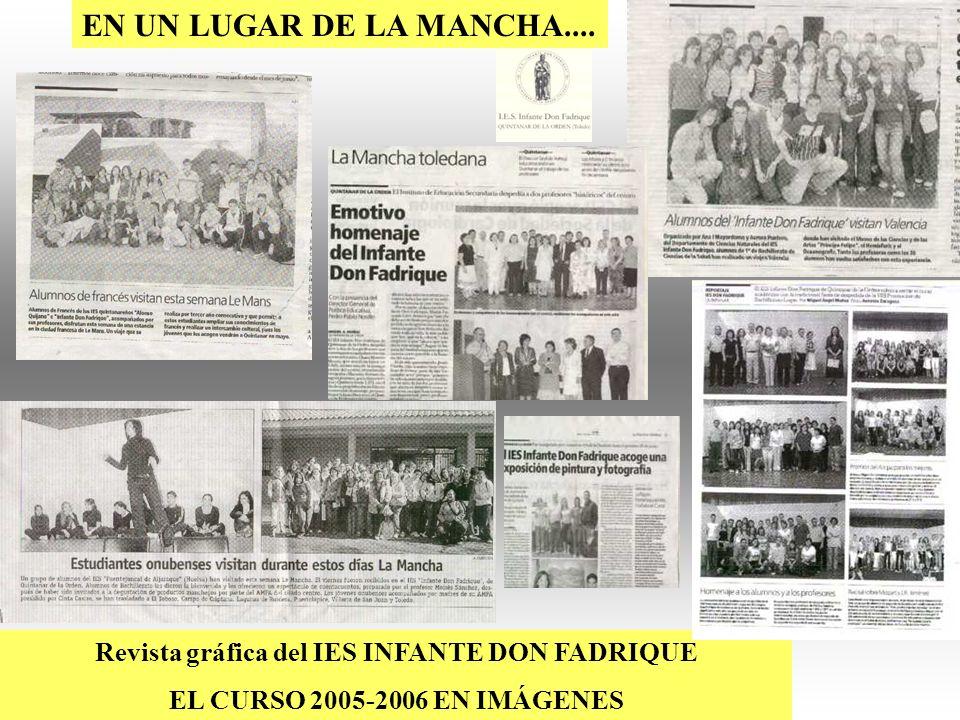 Revista gráfica del IES INFANTE DON FADRIQUE