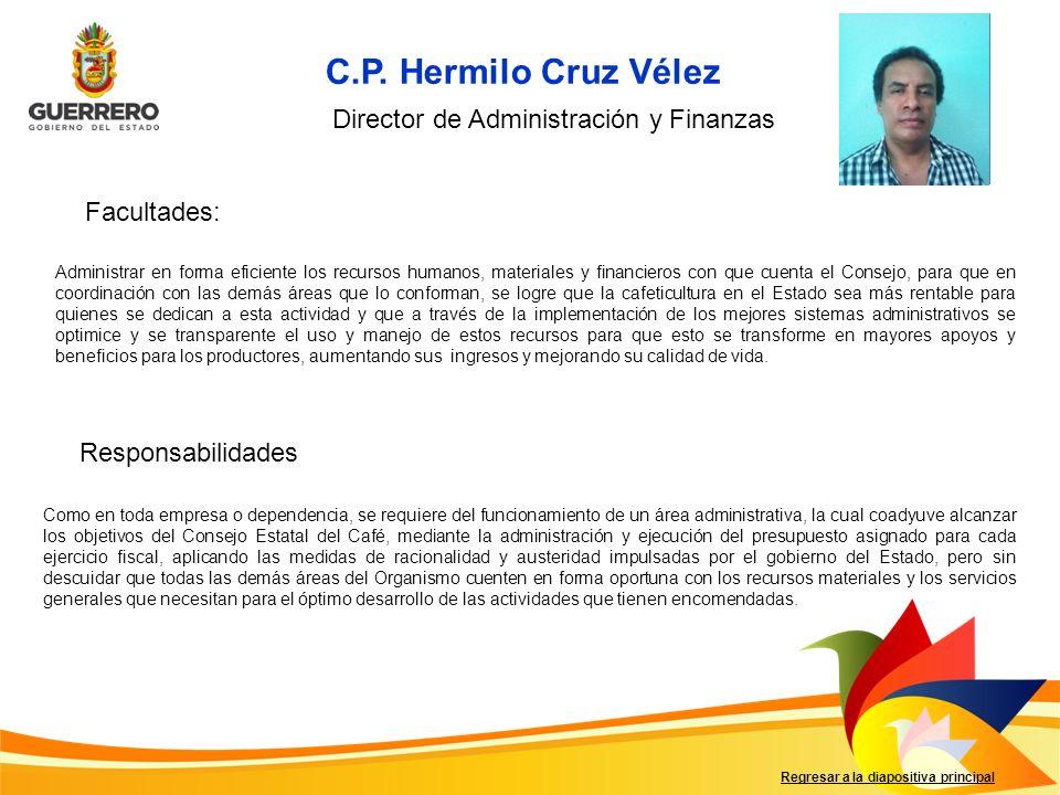 C.P. Hermilo Cruz Vélez Foto del titular