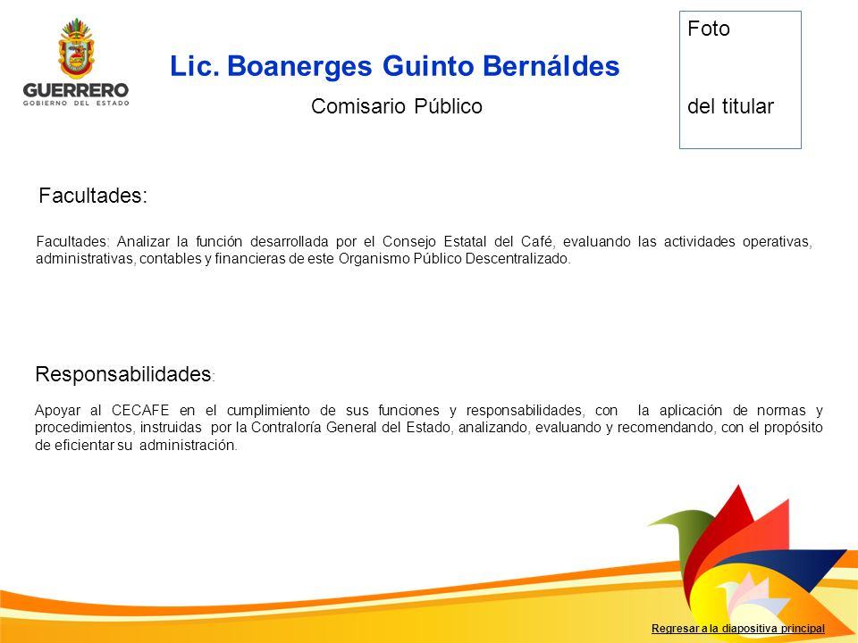 Lic. Boanerges Guinto Bernáldes