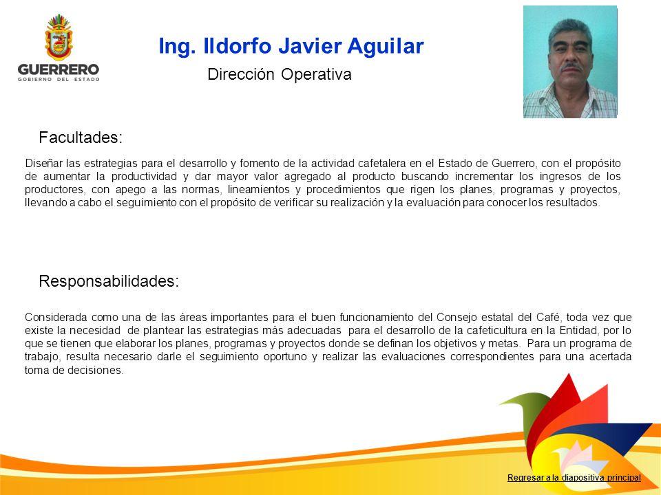 Ing. Ildorfo Javier Aguilar