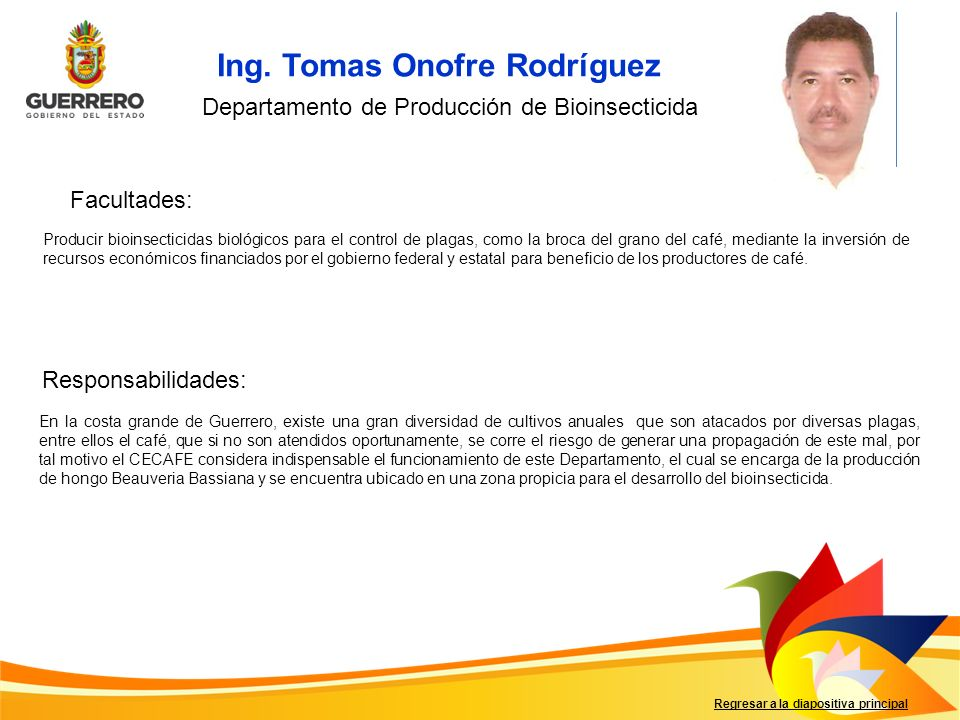 Ing. Tomas Onofre Rodríguez