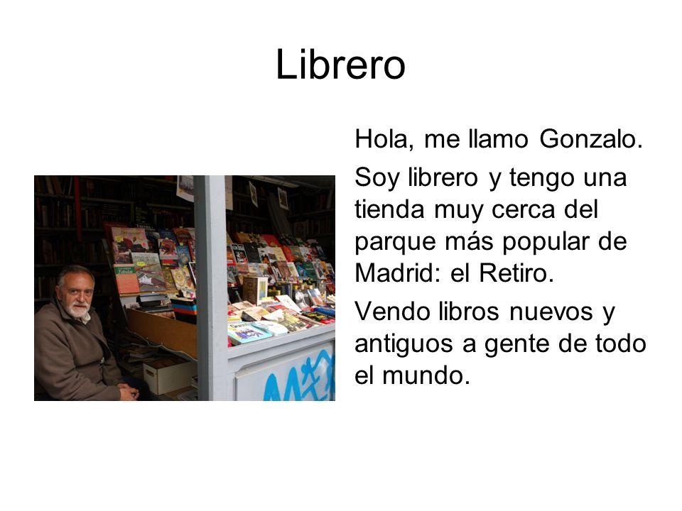 Librero Hola, me llamo Gonzalo.