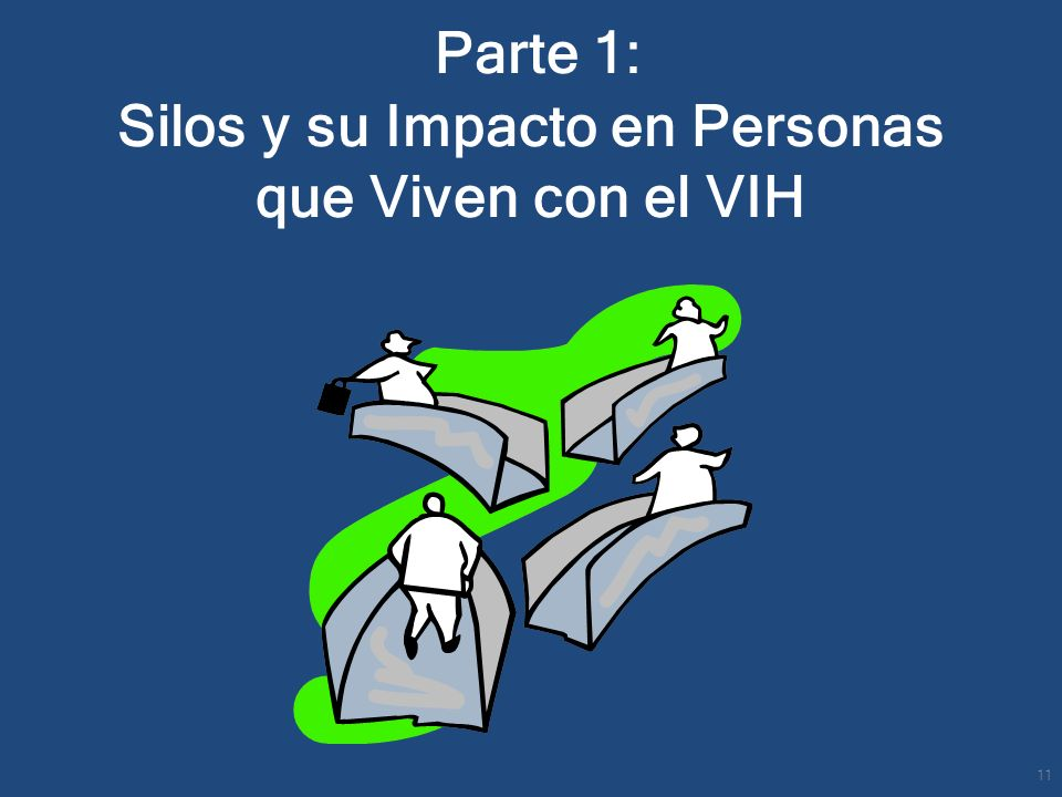Parte 1: Silos y su Impacto en Personas que Viven con el VIH