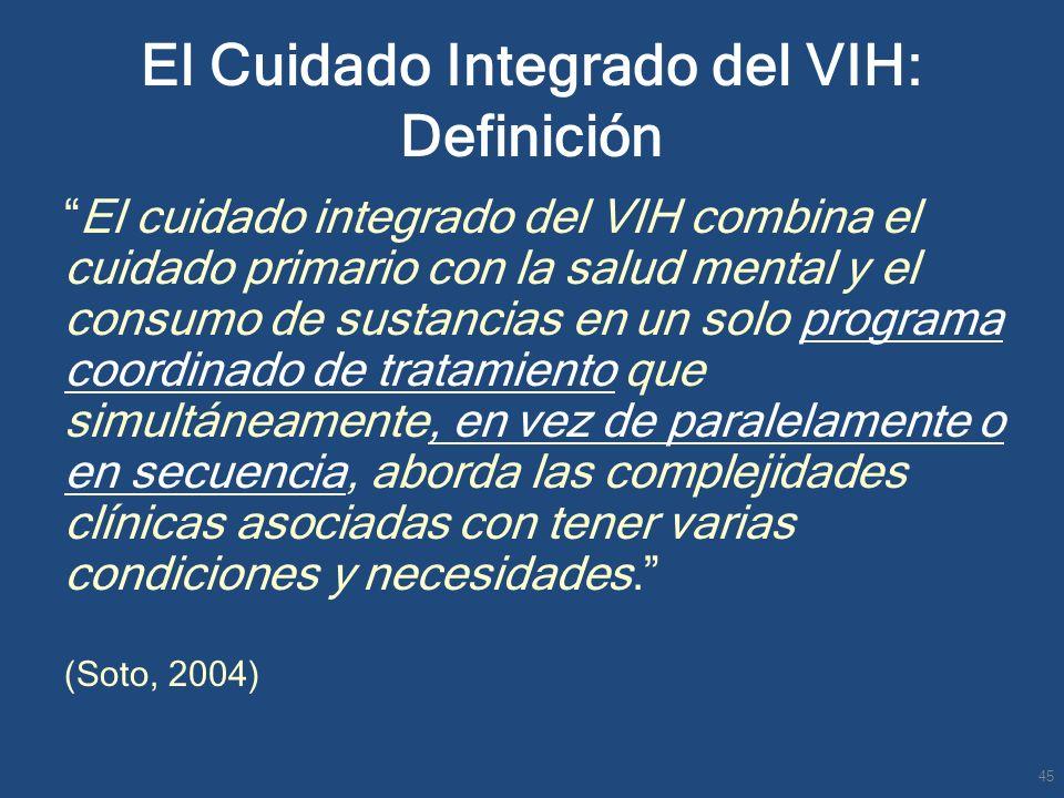 El Cuidado Integrado del VIH: Definición