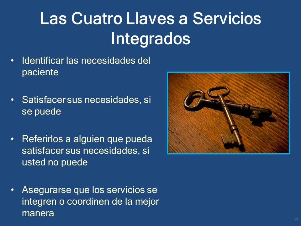 Las Cuatro Llaves a Servicios Integrados
