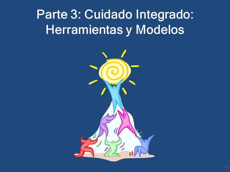 Parte 3: Cuidado Integrado: Herramientas y Modelos