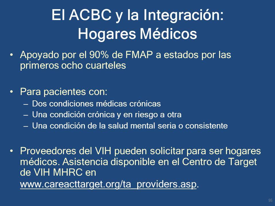 El ACBC y la Integración: Hogares Médicos