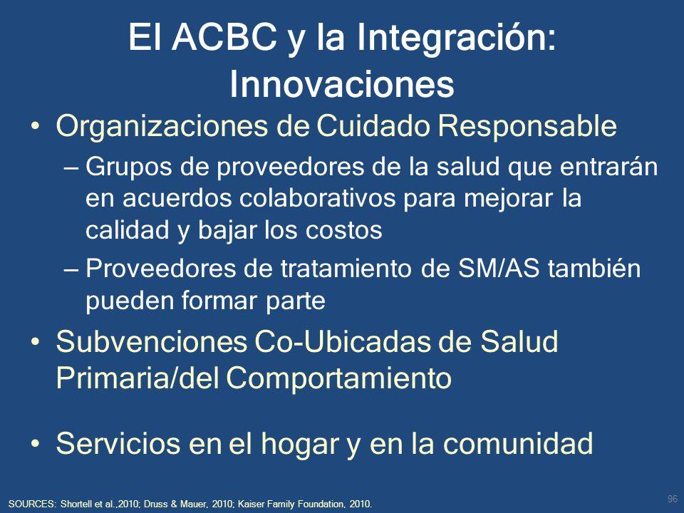 El ACBC y la Integración: Innovaciones
