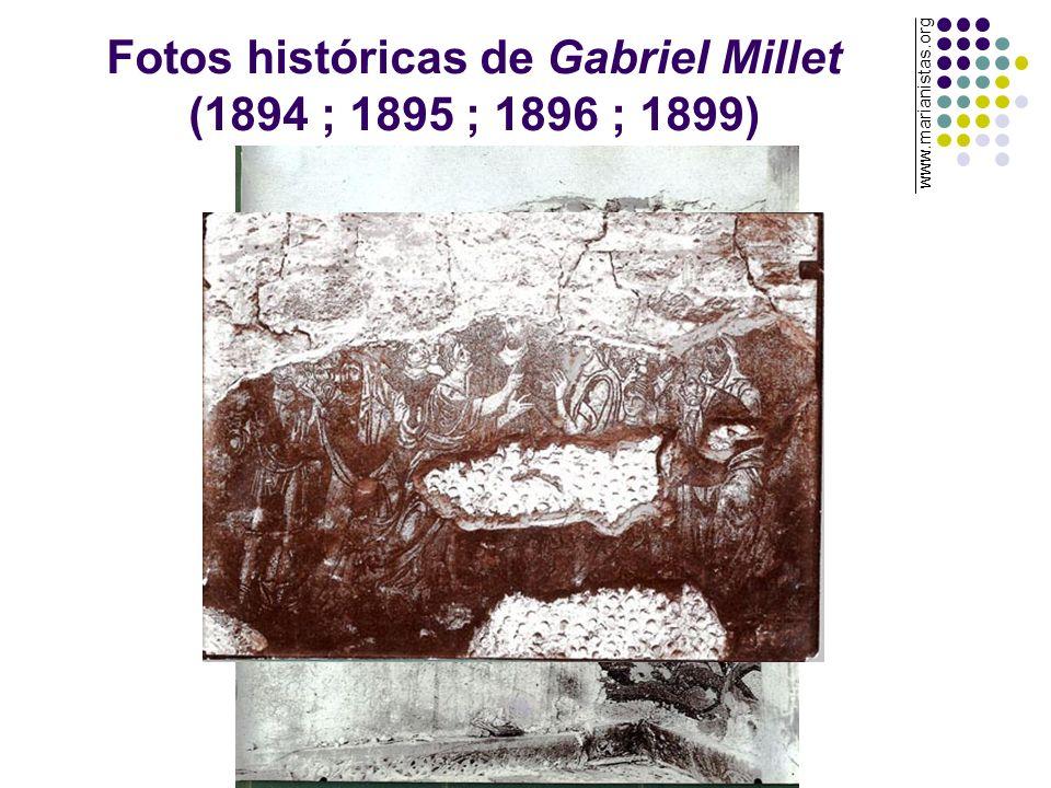 Fotos históricas de Gabriel Millet (1894 ; 1895 ; 1896 ; 1899)