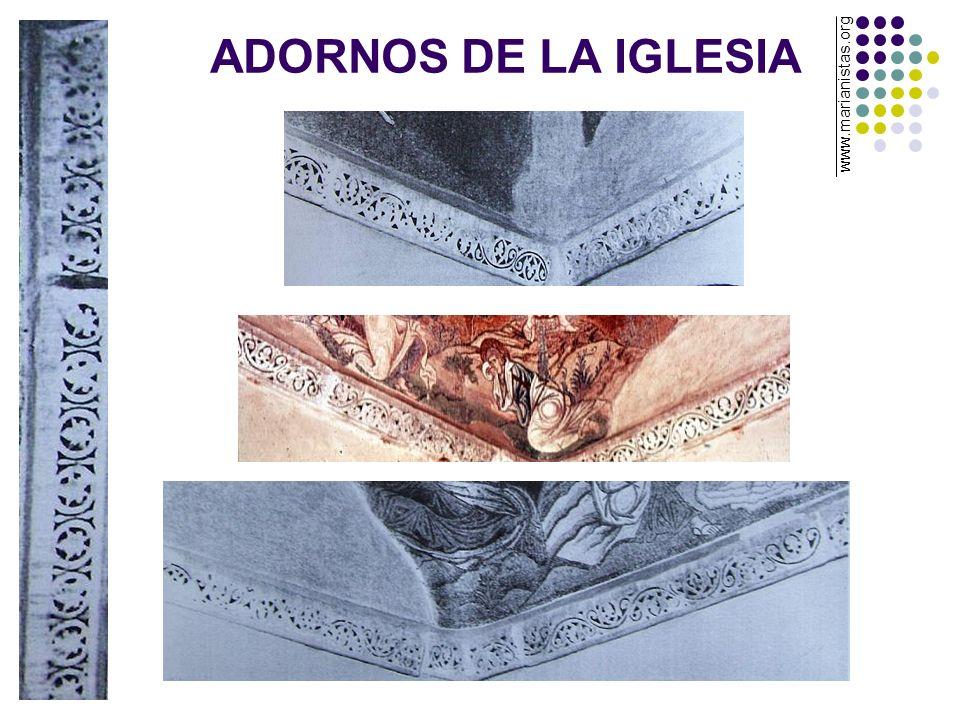 ADORNOS DE LA IGLESIA www.marianistas.org
