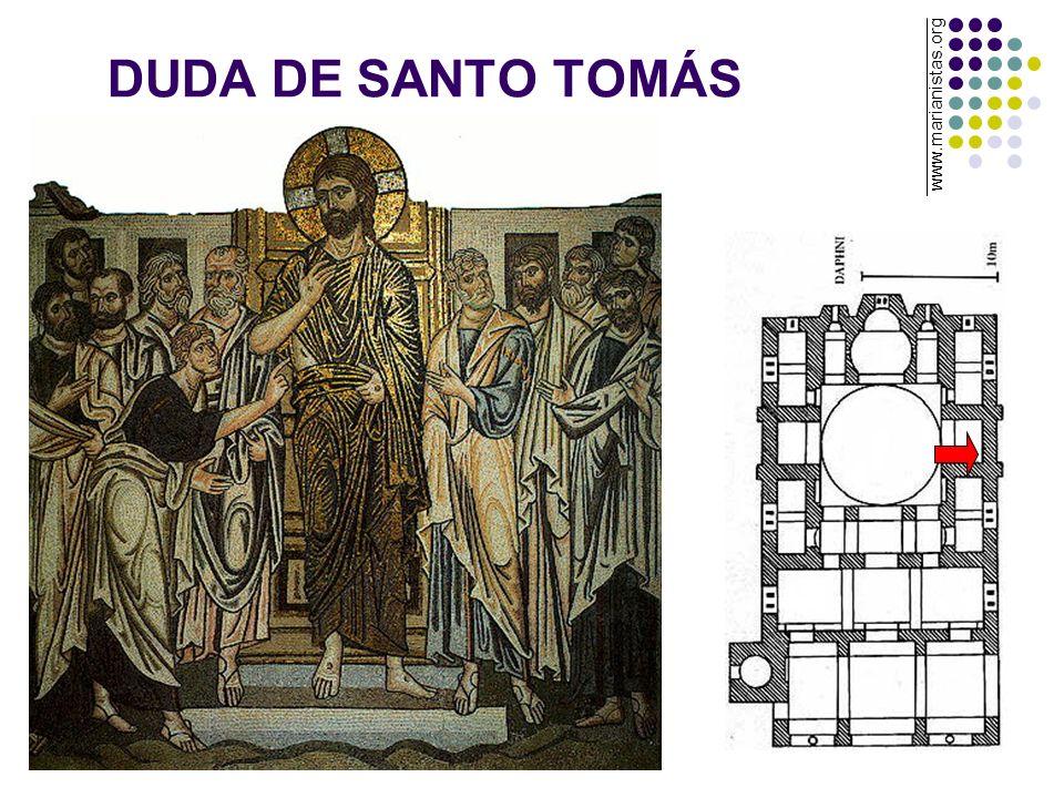 DUDA DE SANTO TOMÁS www.marianistas.org