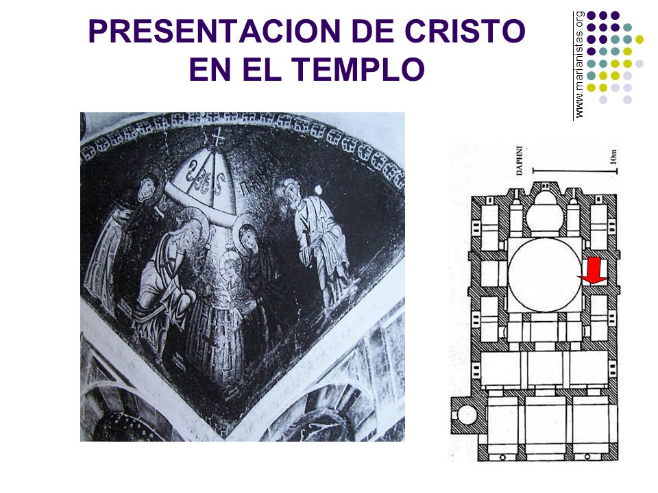 PRESENTACION DE CRISTO EN EL TEMPLO