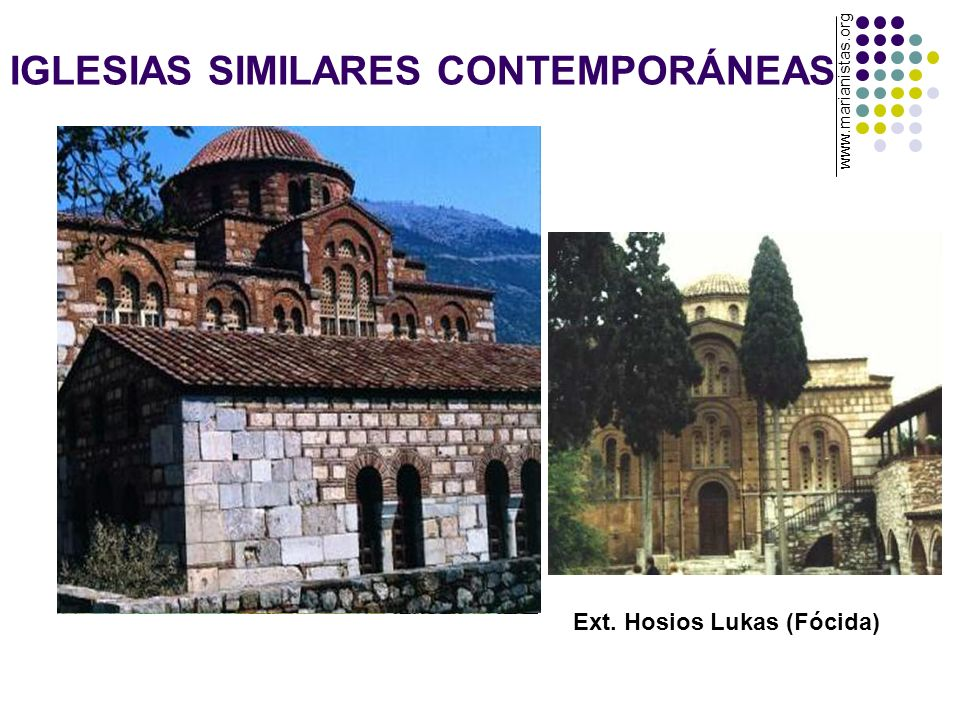 IGLESIAS SIMILARES CONTEMPORÁNEAS