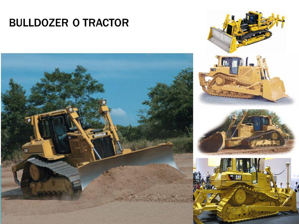Bulldozer o tractor