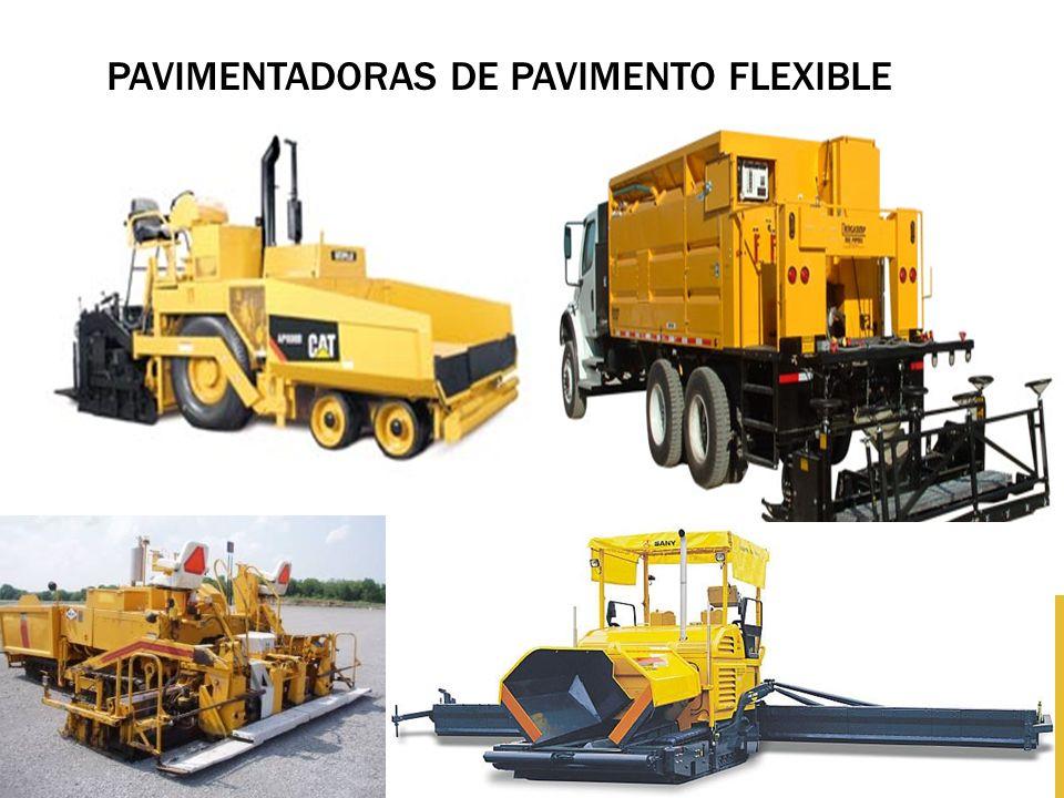 Pavimentadoras de pavimento flexible
