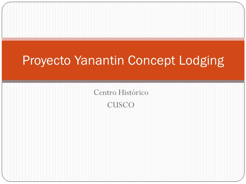 Proyecto Yanantin Concept Lodging