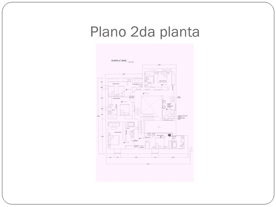Plano 2da planta