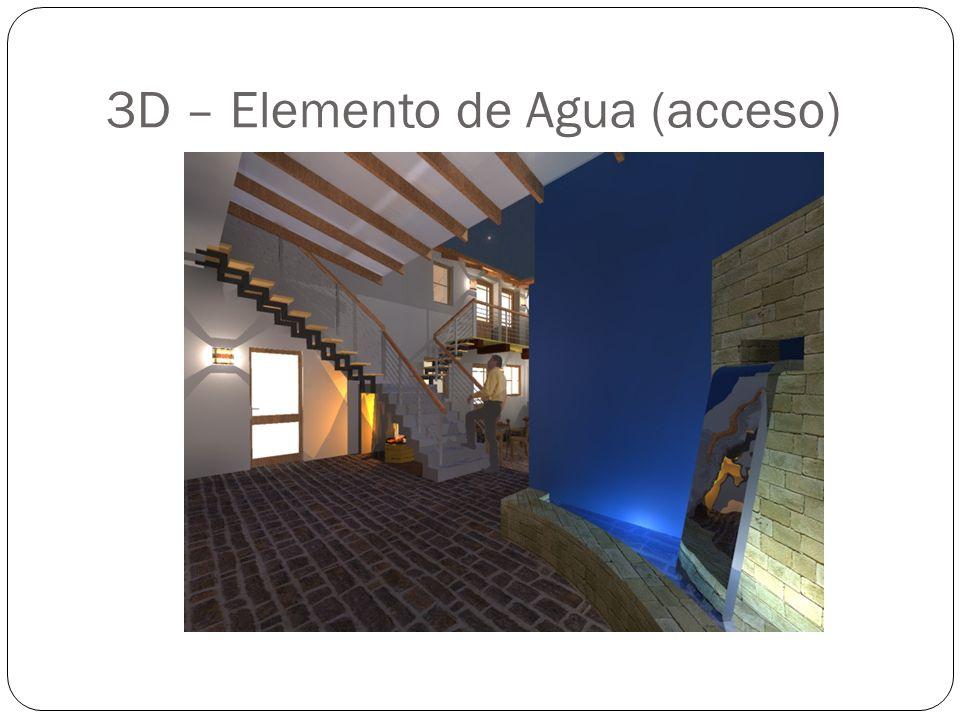3D – Elemento de Agua (acceso)