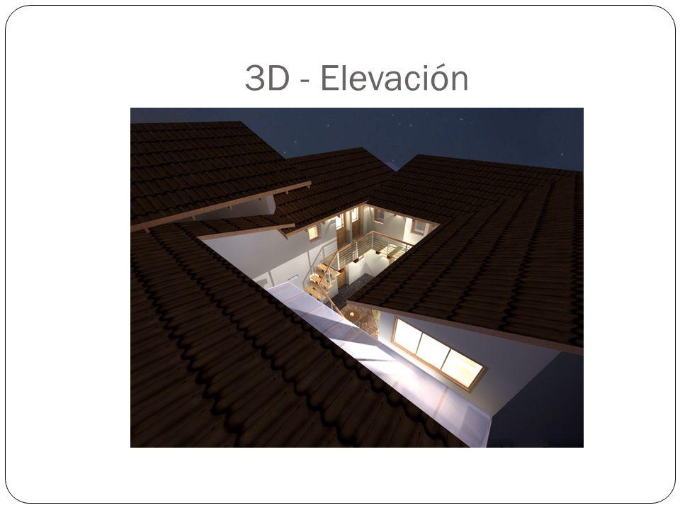 3D - Elevación