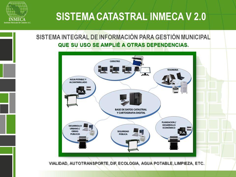 SISTEMA CATASTRAL INMECA V 2.0