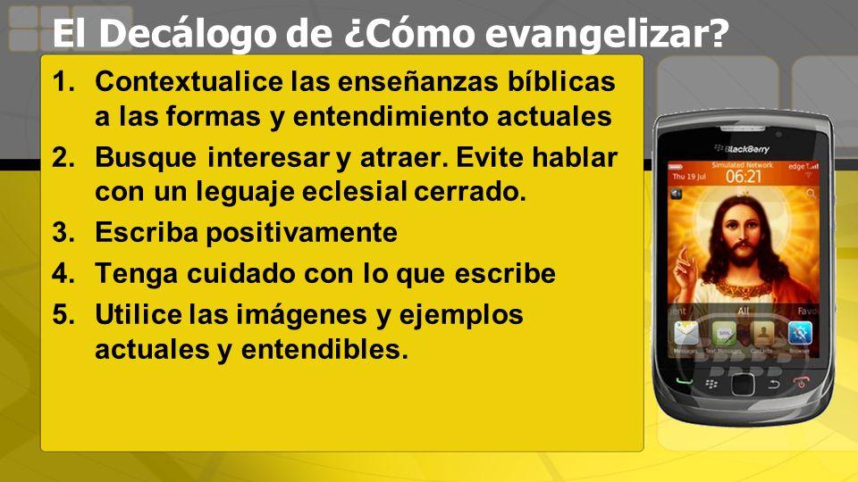 El Decálogo de ¿Cómo evangelizar