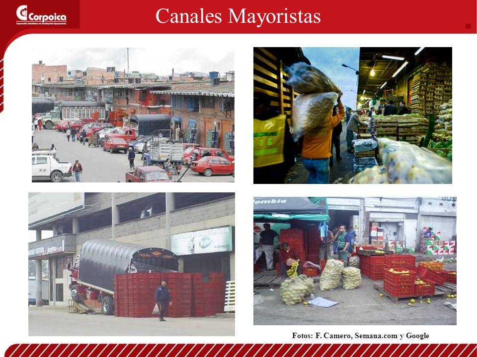 Canales Mayoristas Fotos: F. Camero, Semana.com y Google