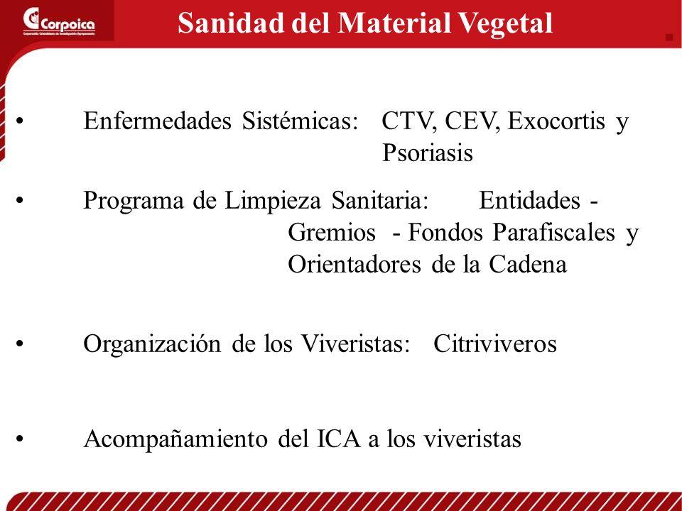 Sanidad del Material Vegetal